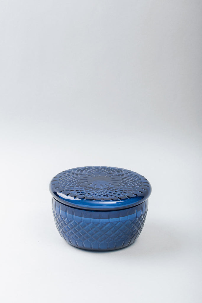 Royal Lid Bowl | Sapphire | scented candle