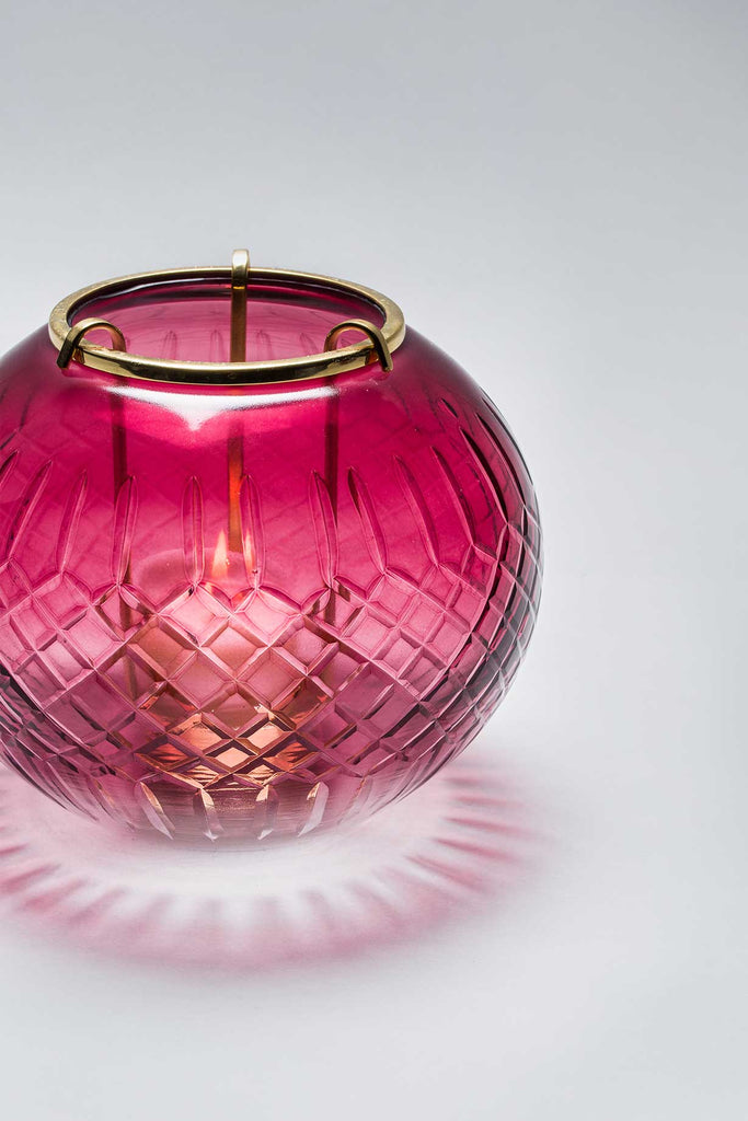 Royal Crystal Bowl | Ruby