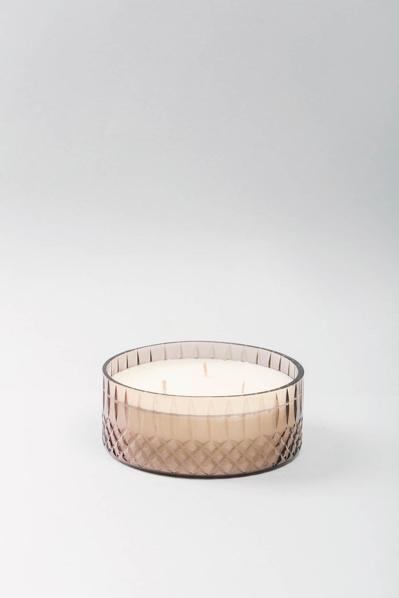Royal Flat Bowl Scented Candle | Onyx