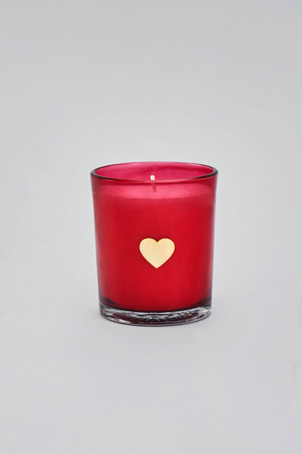 Red Heart Votive | Scented Candle