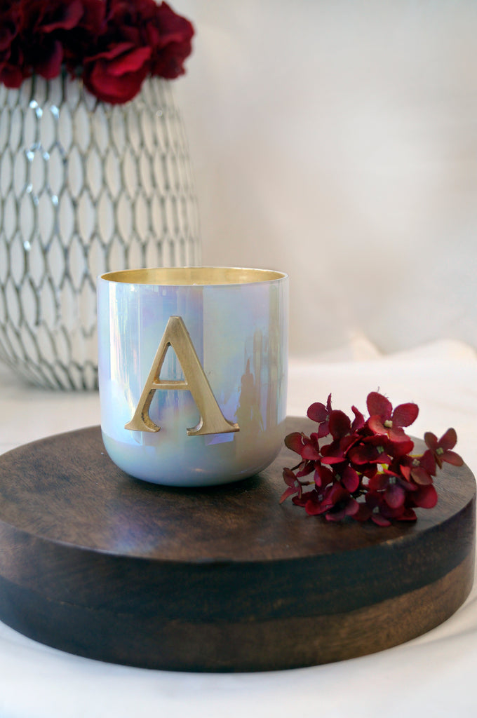 Initial A Scented Candle