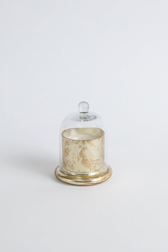 Gold Foiled Bell Jar scented candle