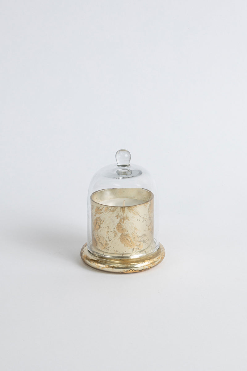 Gold Foiled Bell Jar | Scented Candle
