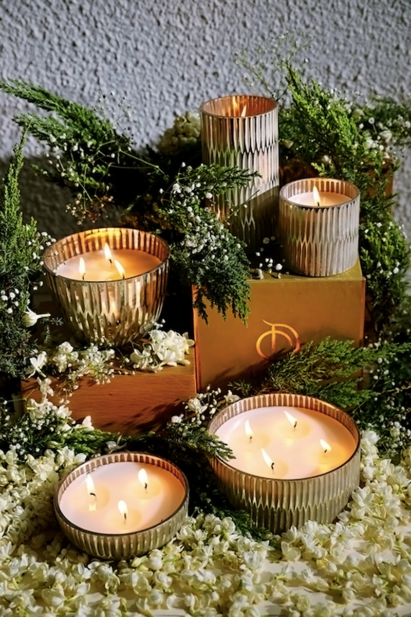 The Ivory Collection Set | Scented Candles