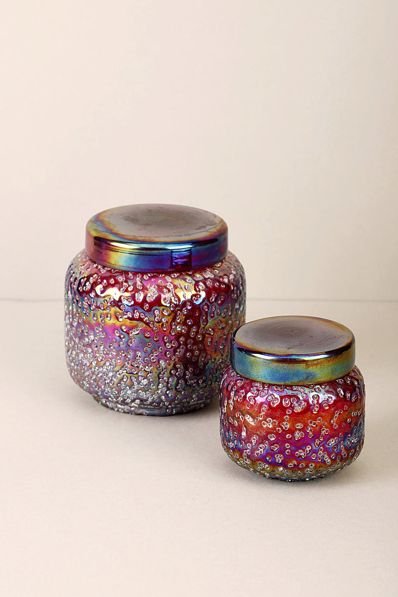 Sugar Pop Lid Jar | Cherry | Scented Candle