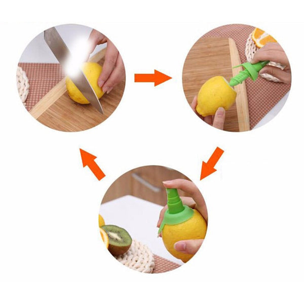 2Pcs/set Lemon Juicer/Sprayer