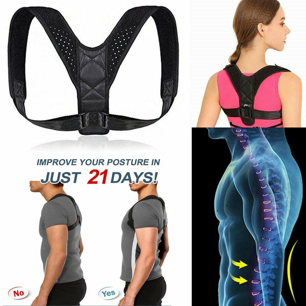 Posture corrector and support brace