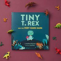 Tiny T.Rex and the very dark dark book