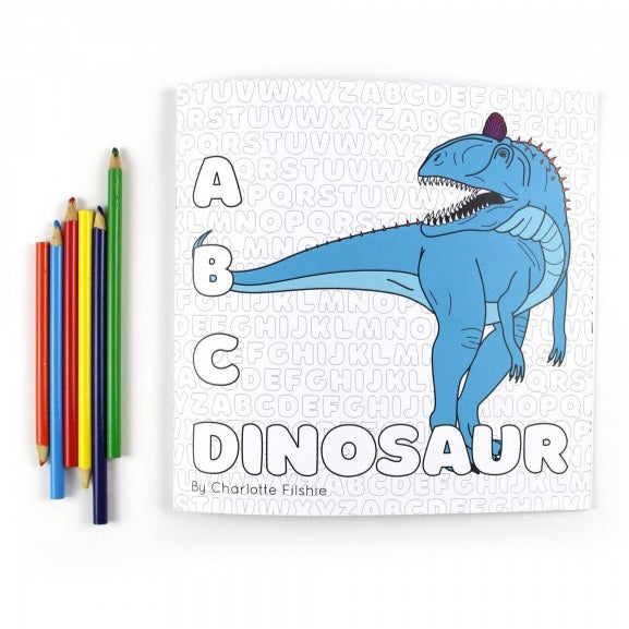 ABC Dinosaur Colouring Book