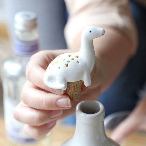 Dinosaur Bottle Stopper