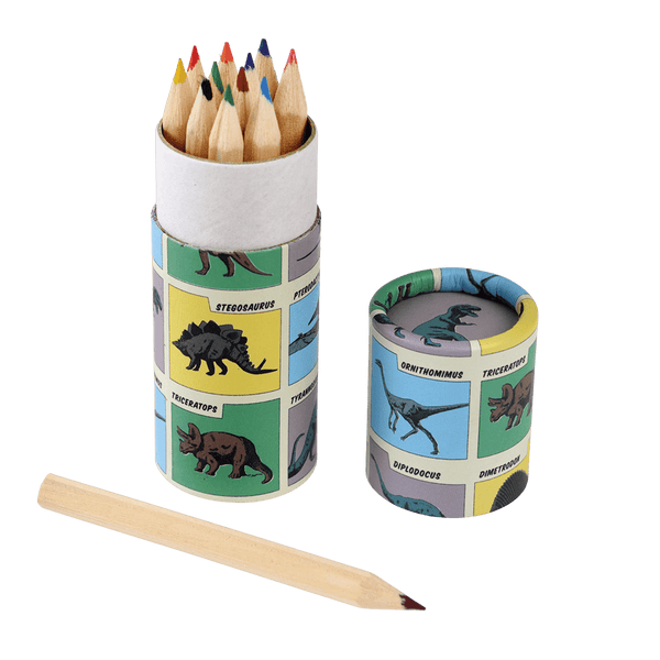 Dinosaur Colouring Pencils (set of 12)