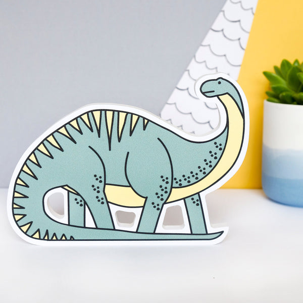 Dinosaur Shelf Ornament - Diplodocus