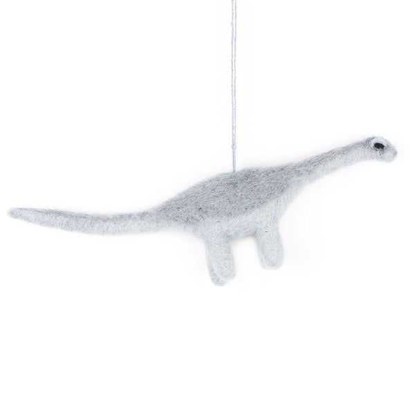 Felt Diplodocus hanging decoration