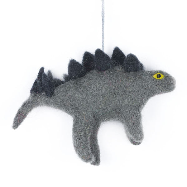 Felt Stegosaurus Christmas Decoration