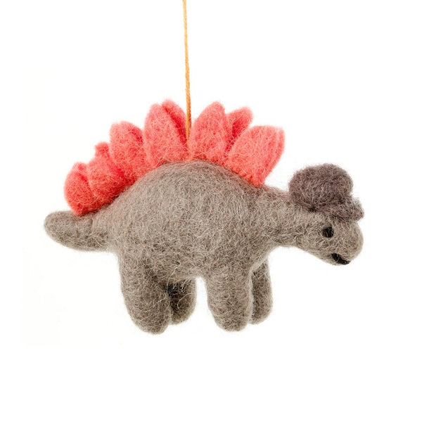 Felt Stegosaurus Hanging Decoration