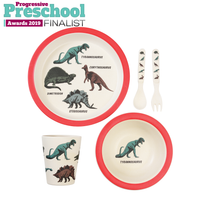 Prehistoric Land Bamboo Tableware (set of 5)