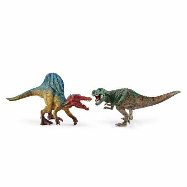 Schleich Spinosaurus and T-Rex Play Set (Small)