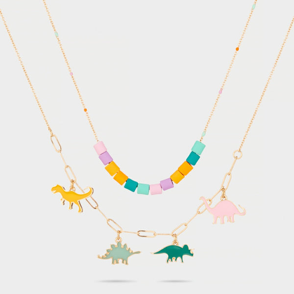She Rex Dinosaur Necklace