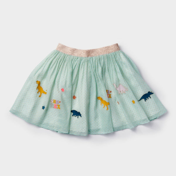 She Rex Dinosaur Circle Skirt