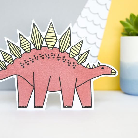 Dinosaur Shelf Ornament - Stegosaurus