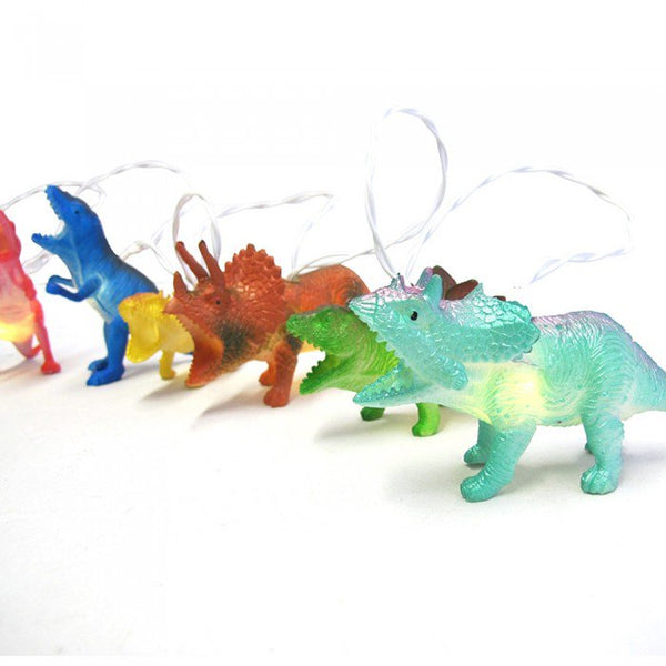 Bright Dinosaurs String Lights