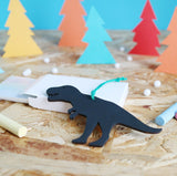 DIY Dinosaur Chalkboard Decoration/Tag