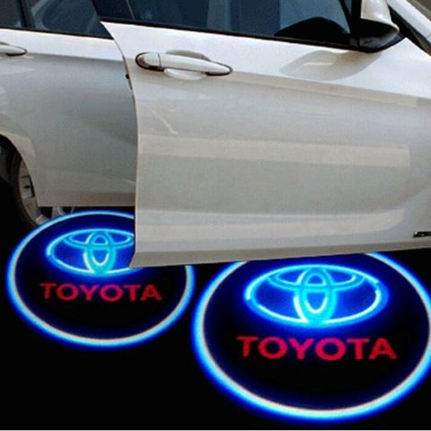Image of Led Car Logo Projector: Wireless Laser Door Projector to Welcome Your Passengers - For Toyota - Beeline-Xpress