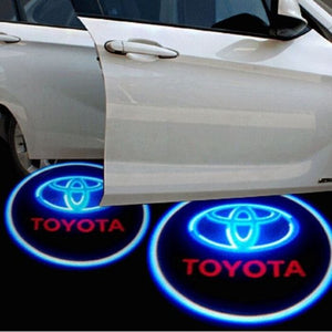 Led Car Logo Projector: Wireless Laser Door Projector to Welcome Your Passengers - For Toyota - Beeline-Xpress