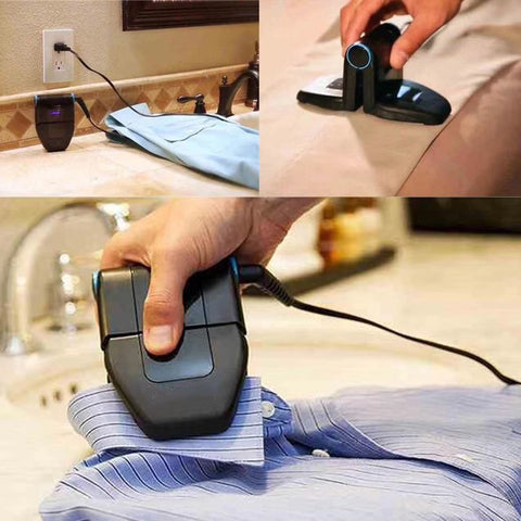 Portable Mini Iron : Fold-able and Ideal for Quick Hand Ironing