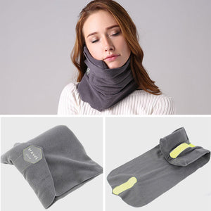 Dream Scarf Travel Pillow: Scientifically Proven Neck Support Pillow - Beeline-Xpress