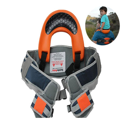 Image of SaddleBaby Pack: Hand-free baby shoulder Carrier - Beeline-Xpress