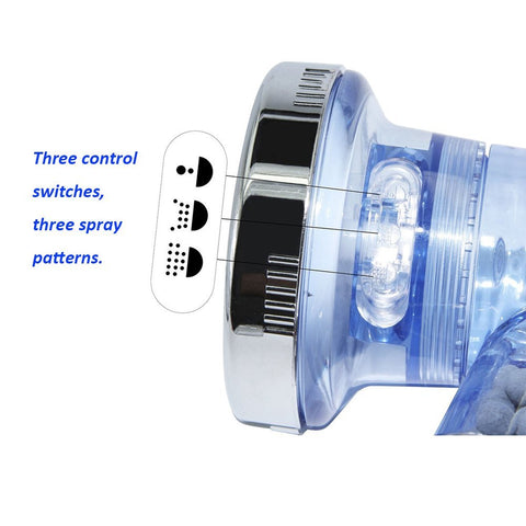 Ionic Shower-Head : Water-Saving and High Pressured Nozzle Sprinkler - Beeline-Xpress