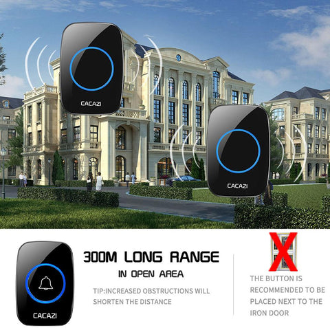 Image of Wlan Doorbell: Ideal For Office, Home, Hospital, Factory, Restaurant - Beeline-Xpress
