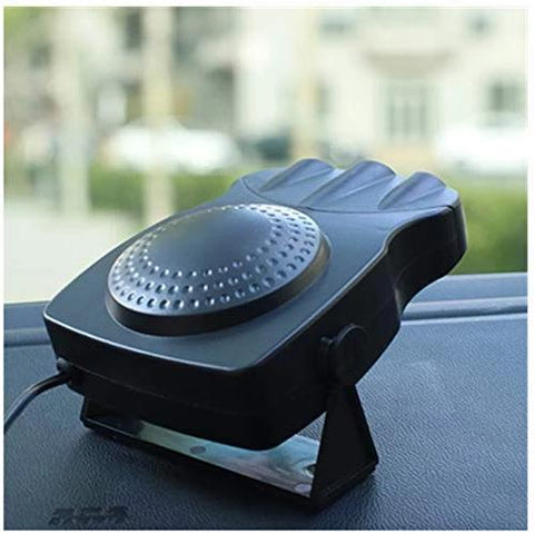 Multi-functional Car Defroster: Portable Car Heater & Defroster - Black - Beeline-Xpress