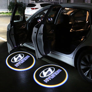 Led Car Logo Projector: Wireless Laser Door Projector to Welcome Your Passengers - For Hyundai - Beeline-Xpress