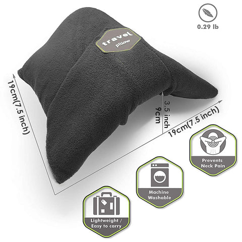 Image of Dream Scarf Travel Pillow: Scientifically Proven Neck Support Pillow - Beeline-Xpress