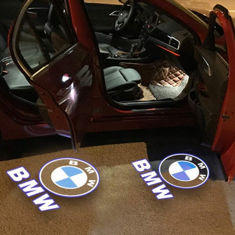 Led Car Logo Projector: Wireless Laser Door Projector to Welcome Your Passengers - For BMW - Beeline-Xpress