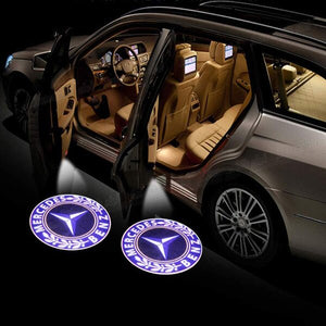 Led Car Logo Projector: Wireless Laser Door Projector to Welcome Your Passengers - For Mercedes Benz - Beeline-Xpress