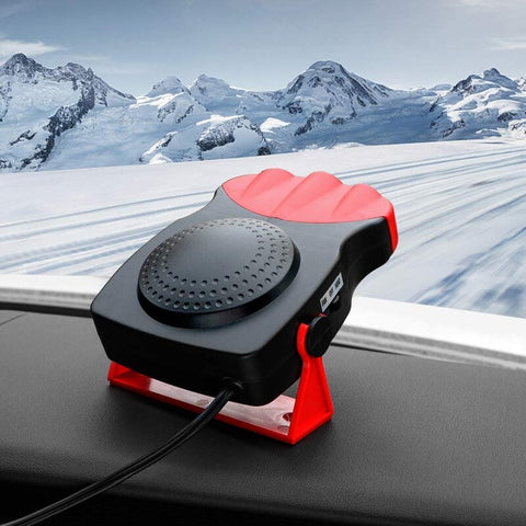 Multi-functional Car Defroster: Portable Car Heater & Defroster - Red - Beeline-Xpress