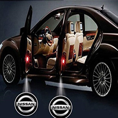 Led Car Logo Projector: Wireless Laser Door Projector to Welcome Your Passengers - For Nissan - Beeline-Xpress