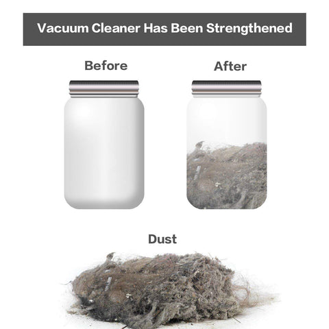 Vacuum Cleaner : Multi-Functional Dust Cleaner with Button Tubes