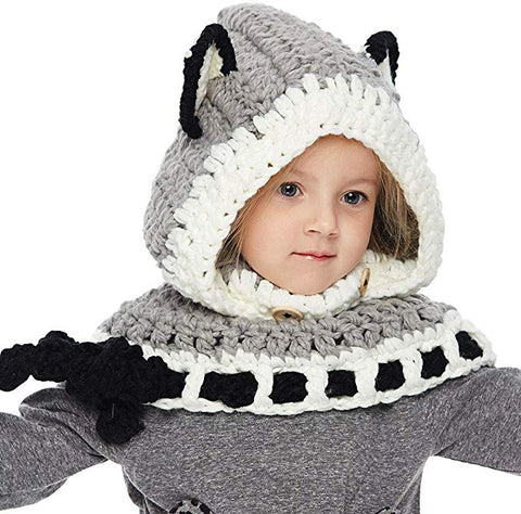 Image of Fashionable Fox Beanie for Kids: Perfect Gift to Keep Kids Warm on Christmas - Beeline-Xpress