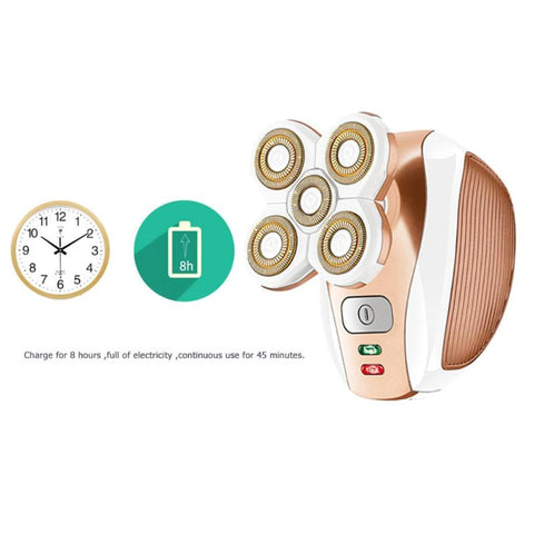 Image of Electric Hair Remover : Shaver that adapts to every curve in 360 °