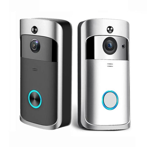 Image of 720P Wireless Surveillance Camera and Connected Doorbell