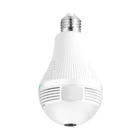 Surveillance Bulb Camera: Visualize Whether You're Present or Not - CAM WITH 128GB CARD - Beeline-Xpress