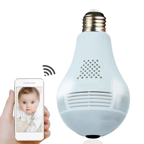 Surveillance Bulb Camera: Visualize Whether You're Present or Not - Beeline-Xpress