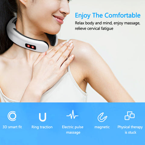 Image of Effective neck massager with infrared heat - Beeline-Xpress