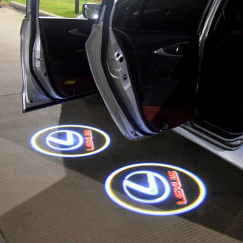 Led Car Logo Projector: Wireless Laser Door Projector to Welcome Your Passengers - For Lexus - Beeline-Xpress