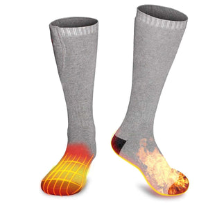 Hot Feet : Rechargeable electric heated socks