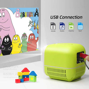 Mini New Generation Video Projector : Suitable for Home, Party, Children and Office - Beeline-Xpress
